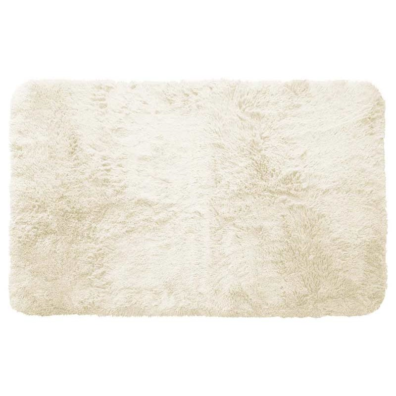 Tapis Imitation Fourrure Marmotte Naturel 50x80cm