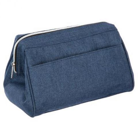 "Trousse de Toilette ""Beauty"" 25cm Bleu"