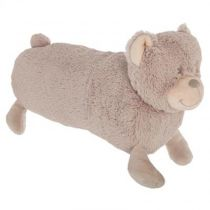 "Coussin Enfant ""Ours"" 50cm Taupe"