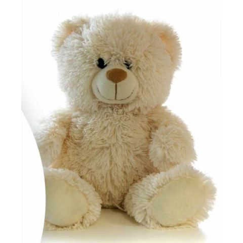Peluche Ours Blanc 50cm