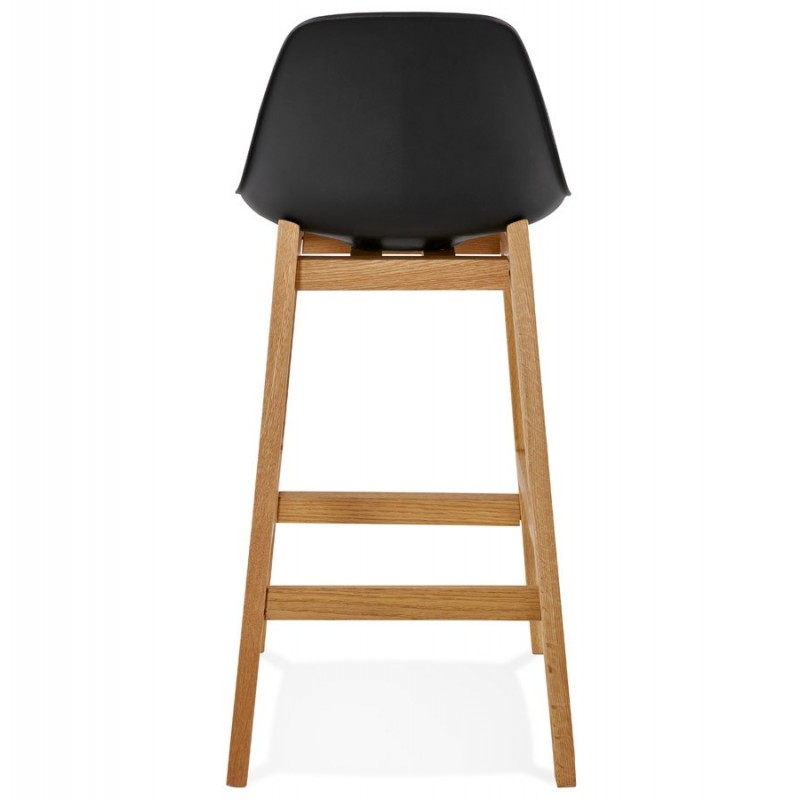 tabouret de bar scandinave rita 87cm noir. Black Bedroom Furniture Sets. Home Design Ideas