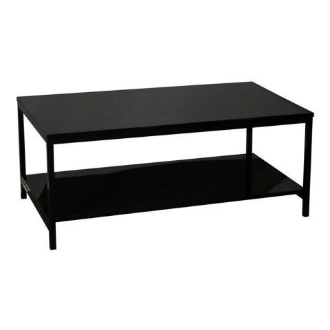 Table Basse Rectangle Verny Noir