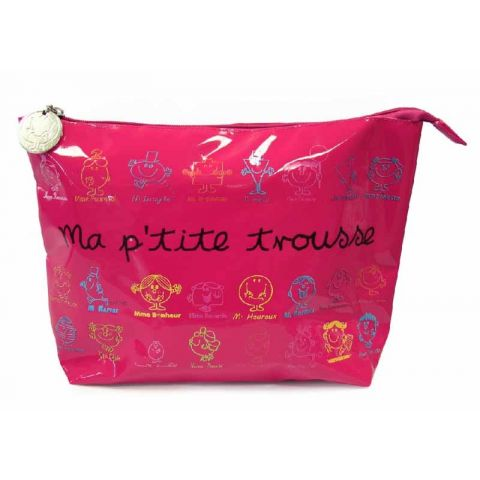 Trousse de Toilette Mr & Mme Fuchsia