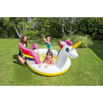 "Piscine Enfant Fontaine ""Licorne"" 272cm Multicolore"