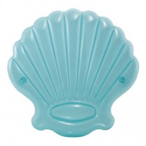 """Matelas Gonflable """"Coquillage"""" 191cm Turquoise"""