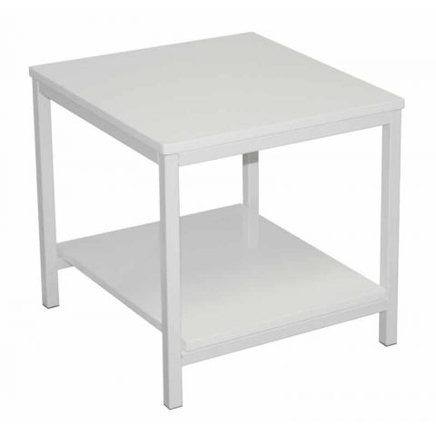 Table d'appoint Verny Blanc
