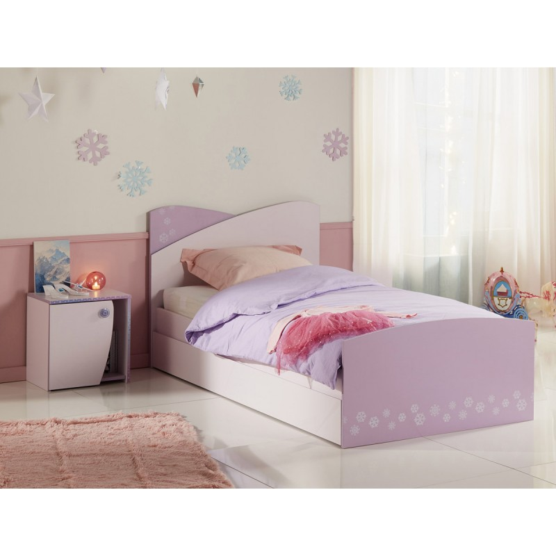 table de chevet enfant hannah 44cm rose. Black Bedroom Furniture Sets. Home Design Ideas