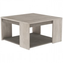 "Table Basse Design ""Zadar"" 80cm Naturel"