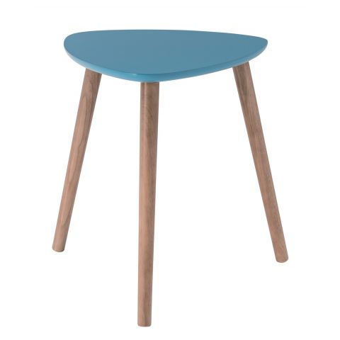 Table D Appoint Scandinave Kaja 40cm Bleu