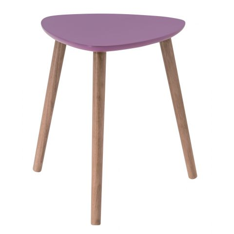 "Table d'Appoint Scandinave ""Kaja"" 40cm Violet"