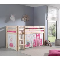 "Lit Enfant ""Pino Princesse"" Naturel"