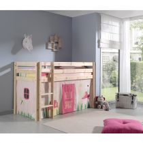"Lit Enfant ""Pino Spring"" Naturel"