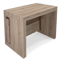 "Console Extensible ""Axel"" 50-300cm Naturel"