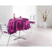 Nappe Polyester 180cm Provencia Rose
