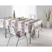 Nappe Polyester 150x240cm Provencia Taupe