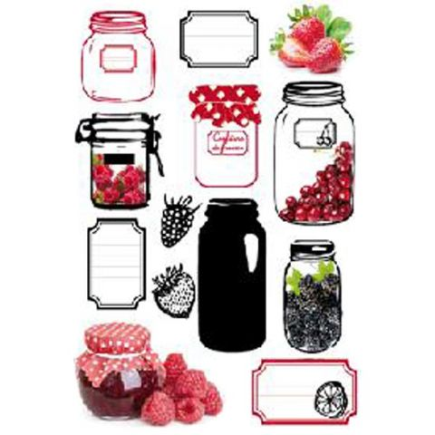 "Stickers 50x70cm ""Confiture"""