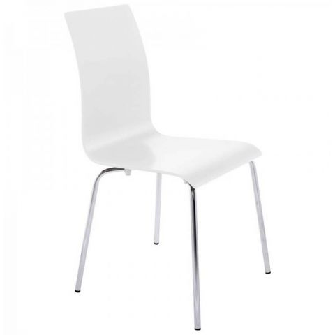 Chaise design Tina Blanche
