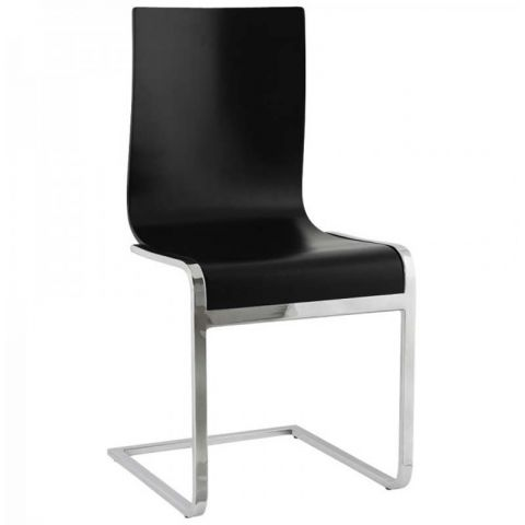 Chaise design Lana Noir