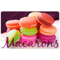 "Set de Table ""Macarons"" 28x44cm Multicolore"