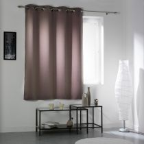 "Rideau Occultant ""Cocoon"" 140x180cm Taupe"