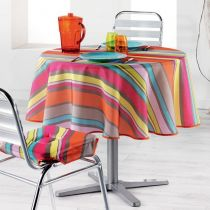 "Nappe Antitache ""Marina"" 180cm Multicolore"
