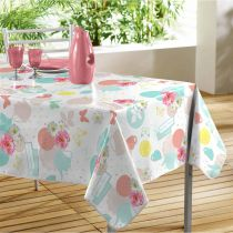 "Nappe Toile Cirée ""Tea Party"" 140x240cm Multicolore"