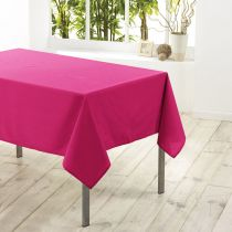 "Nappe Antitache ""Essentiel"" 140x250cm Fuchsia"