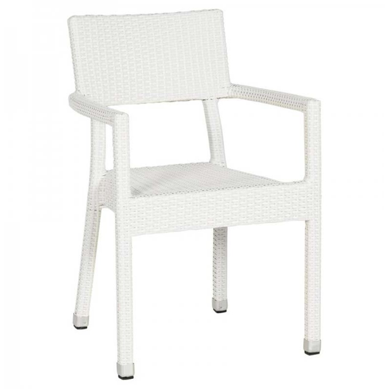 Chaise de jardin epura blanc for Chaise design petit prix