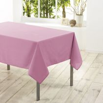 "Nappe Antitache ""Essentiel"" 140x200cm Rose Dragée"