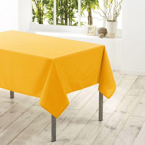 "Nappe Antitache ""Essentiel"" 140x250cm Jaune"