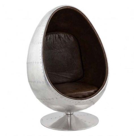 "Fauteuil Design Eggs ""Aviator"""