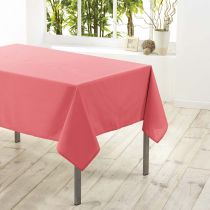 "Nappe Antitache ""Essentiel"" 180x180cm Corail"