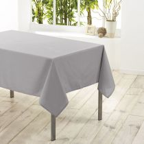 "Nappe Antitache ""Essentiel"" 180x180cm Gris"