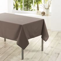 "Nappe Antitache ""Essentiel"" 180x180cm Taupe"