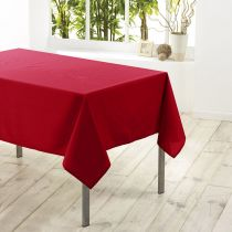 "Nappe Antitache ""Essentiel"" 180x180cm Rouge"