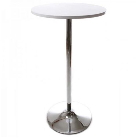 Table de bar Basic Blanc