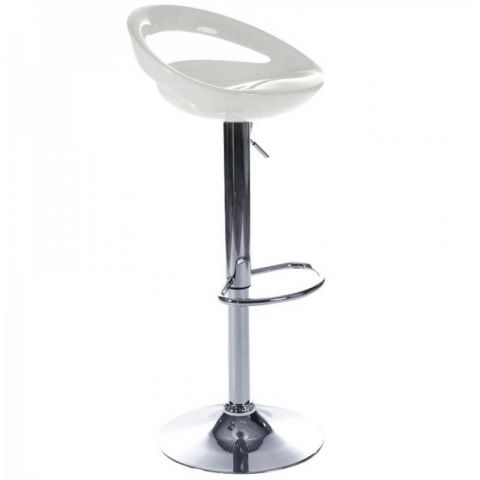 Tabouret de bar City Blanc
