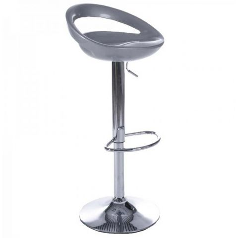 Tabouret de bar City Argent