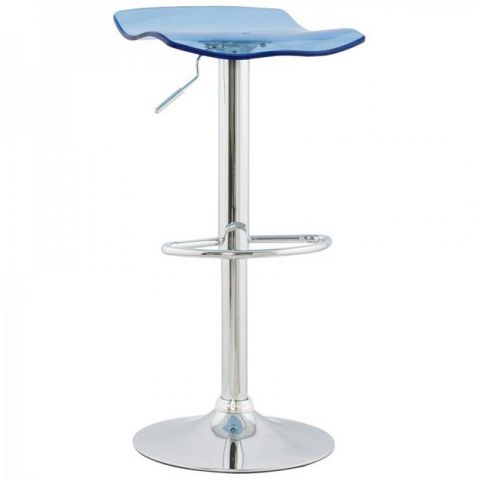 Tabouret de bar Pure Bleu