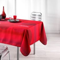 "Nappe Antitache ""Kosmo"" 150x240cm Rouge"