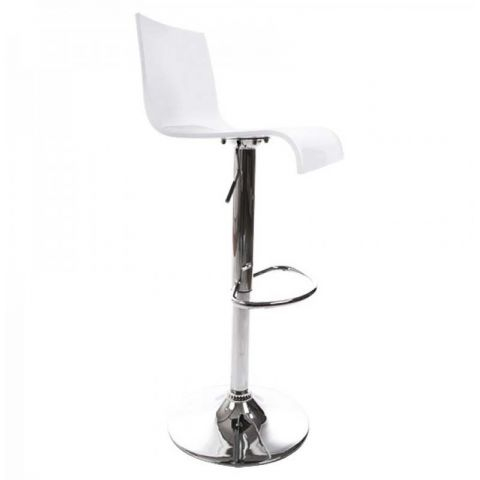 "Tabouret de bar ""Space"" Blanc"