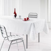 "Nappe Antitache ""Bully"" 150x240cm Blanc"