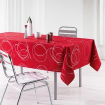 "Nappe Antitache ""Bully"" 150x240cm Rouge"