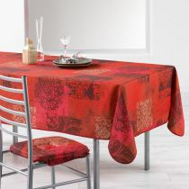 "Nappe Antitache ""Roxane"" 150x240cm Rouge"