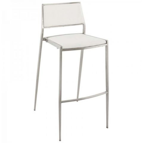 Tabouret de Bar High Blanc