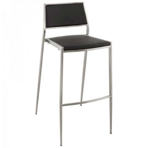 Tabouret de Bar High Noir
