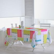 "Nappe Antitache ""Florida"" 150x240cm Multicolore"