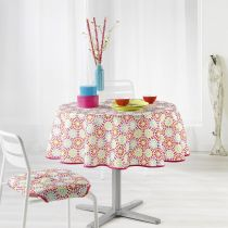 "Nappe Antitache ""Kaleida"" 180cm Multicolore"