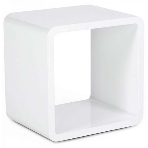 Table basse design Kubi Blanche