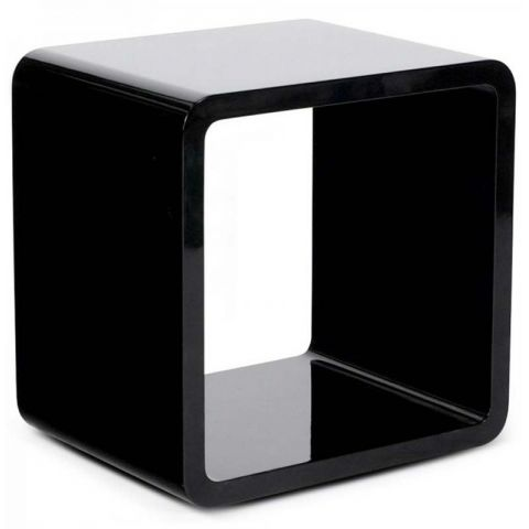 Table basse design Kubi Noire